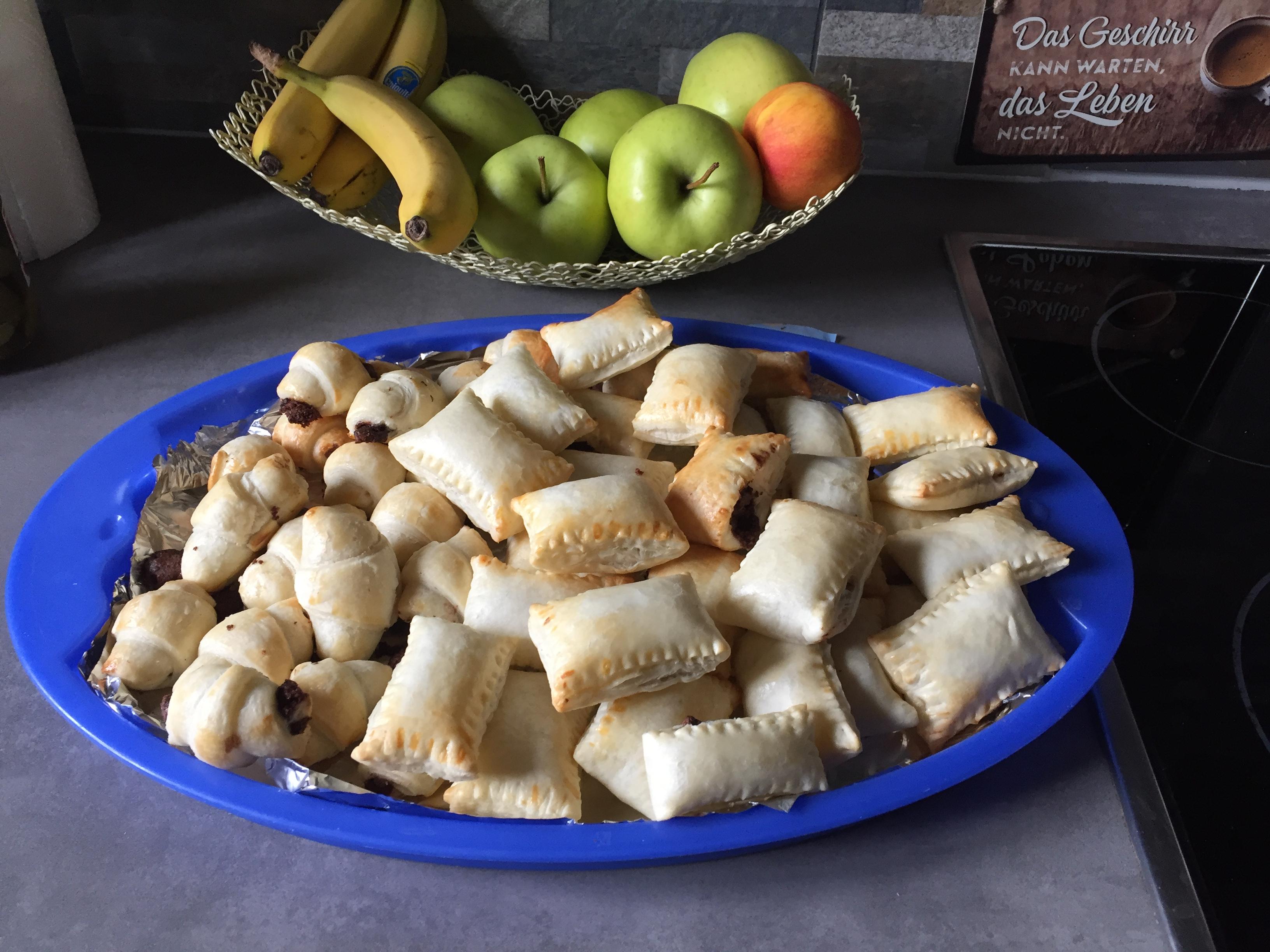 Nutellakipferl & Marmeladentascherl auf waskochen.at