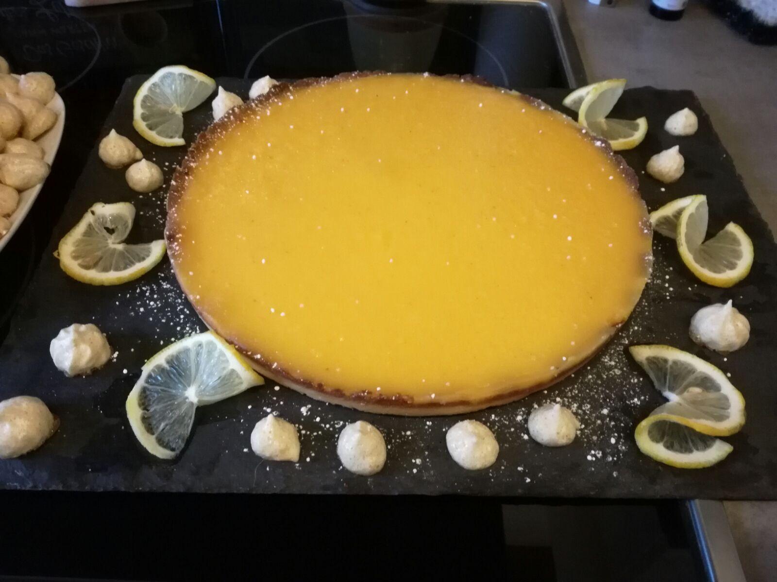 Zitronentarte mit Baise auf waskochen.at