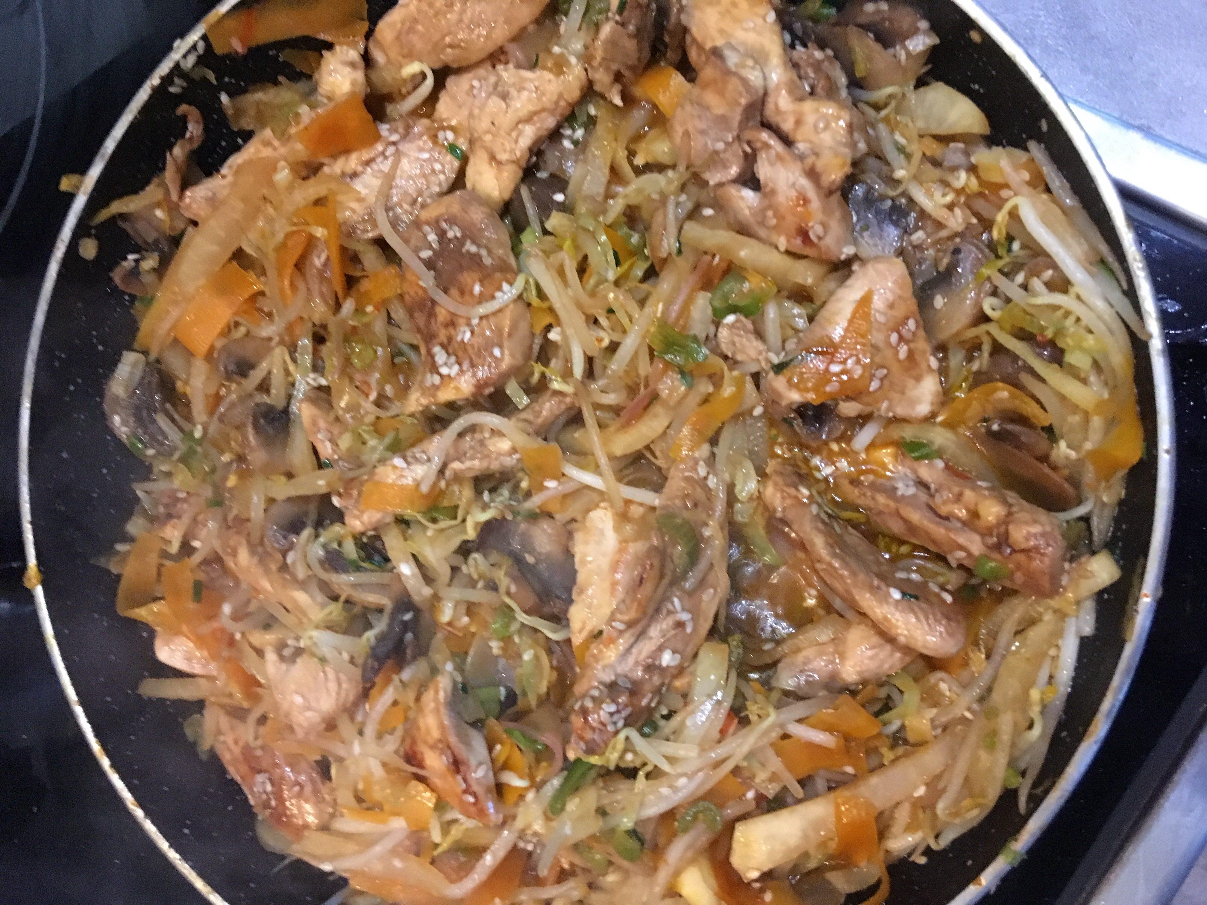 Chinesisches Gemüsepfandl auf waskochen.at