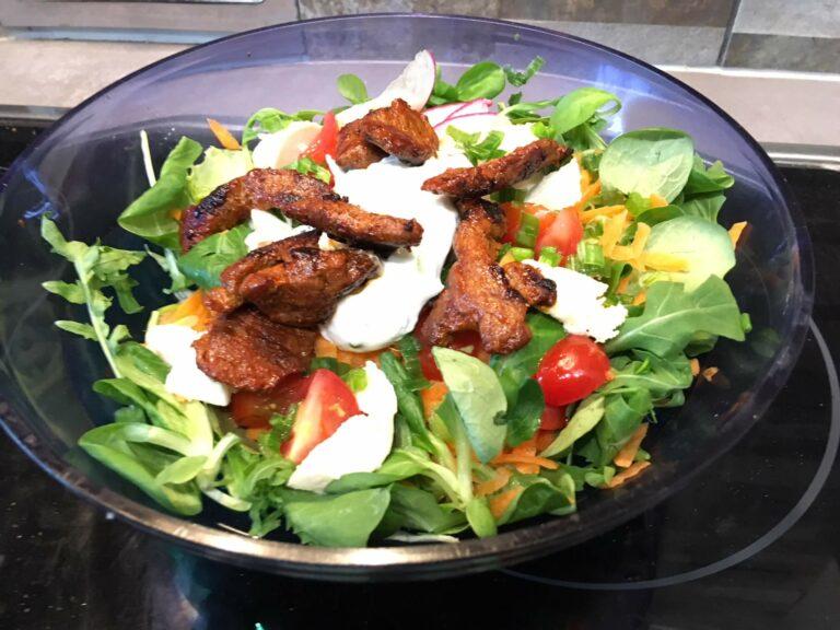 Salat Rindfleisch 4