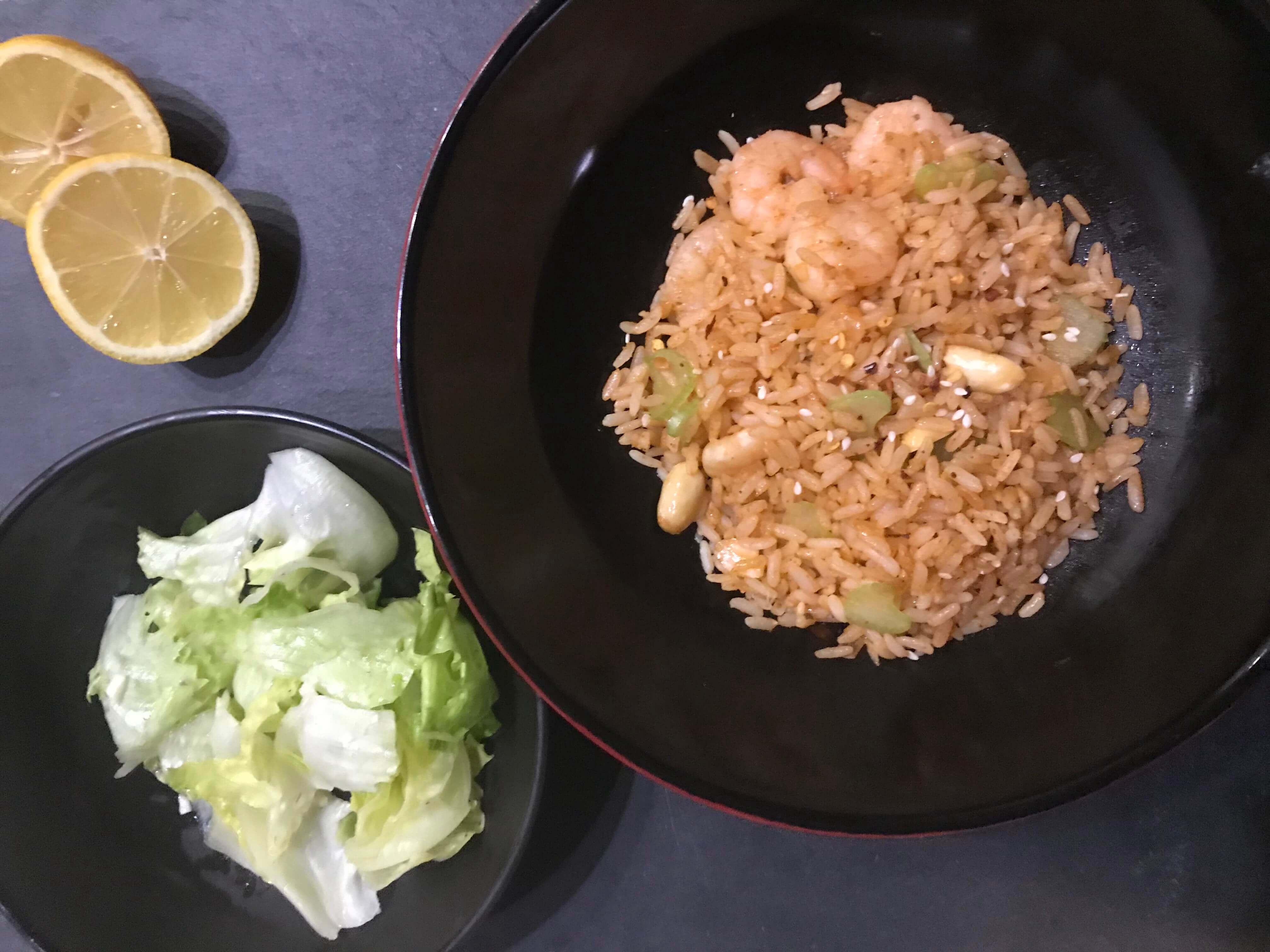 Waskochen Indische Reispfanne Mit Garnelen auf waskochen.at