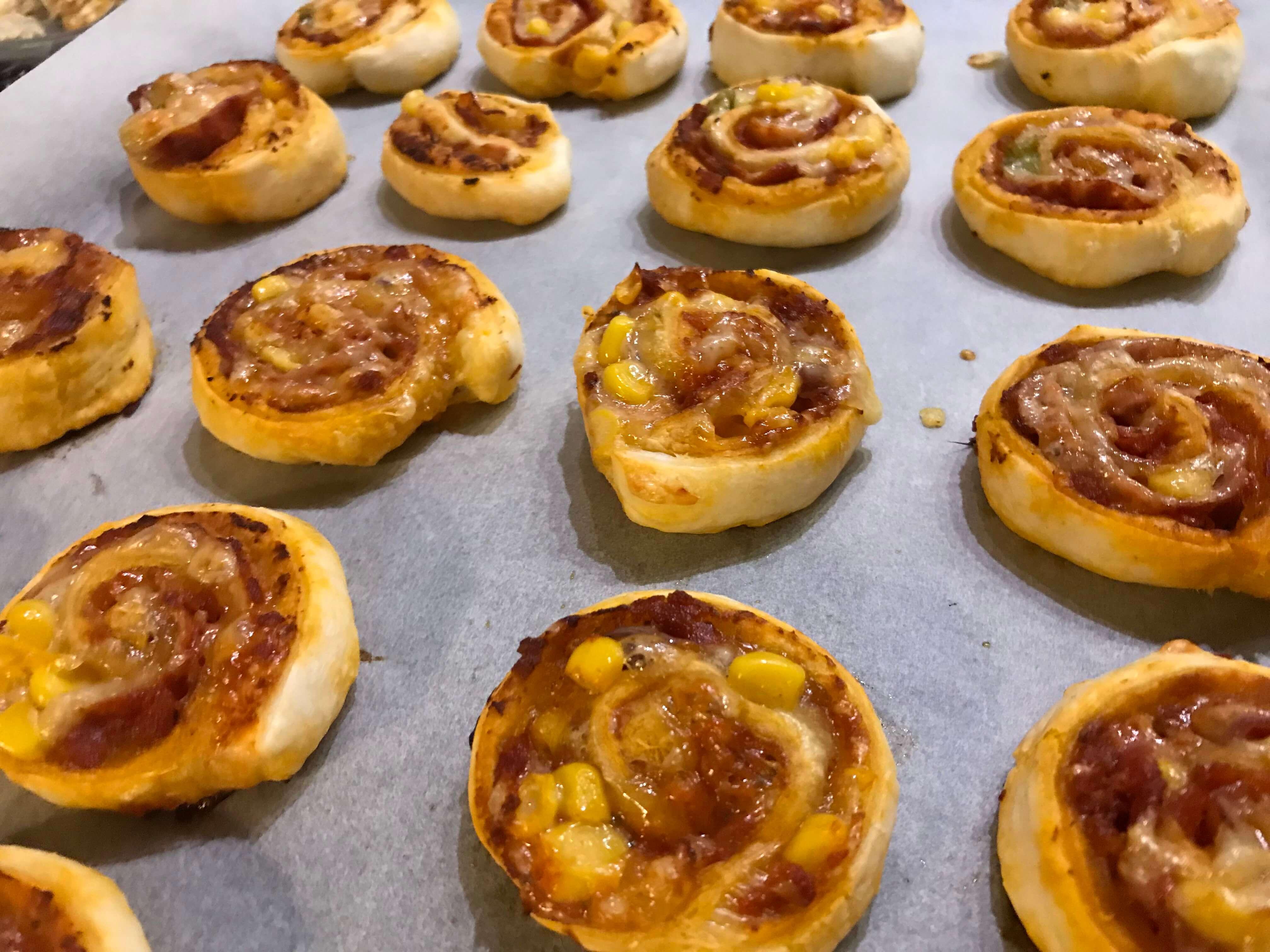 Waskochen Mini Pizzaschnecken auf waskochen.at