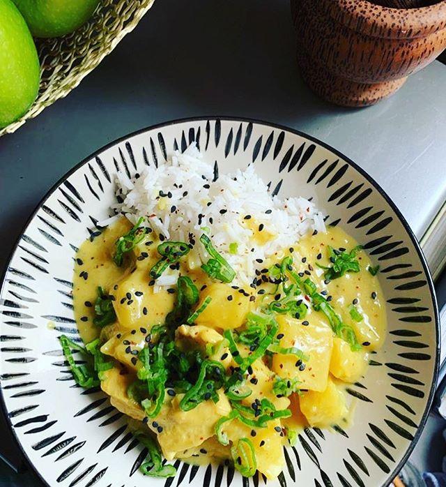 Curry Huhn Ananas auf waskochen.at