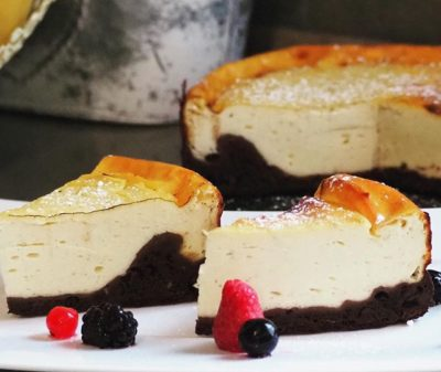 Lowcarb Protein Cheesecake
