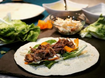 Pulled Pork Wraps Waskochen
